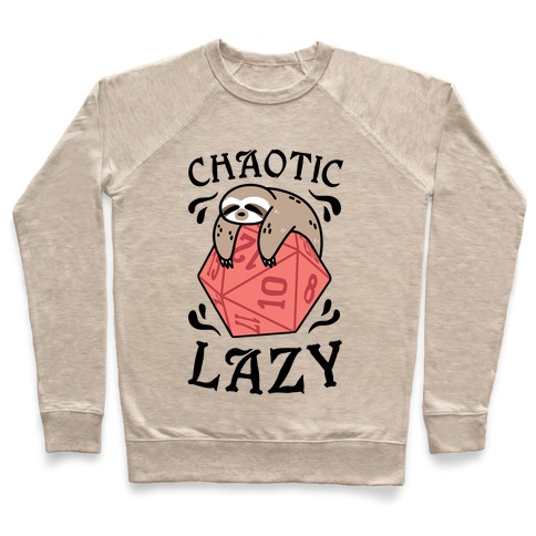 Chaotic Lazy Pullover