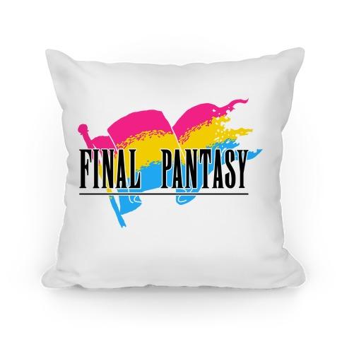 Final Pantasy Pillow