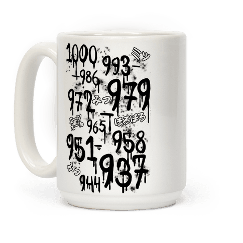 1000 Minus 7 Coffee Mug