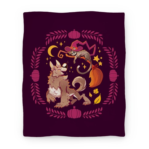 Wholesome Halloween Blanket