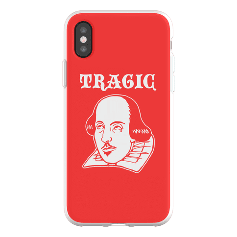 Tragic (Shakespeare) Phone Flexi-Case