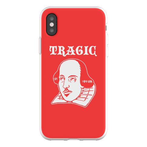 Tragic (Shakespeare) Phone Flexi-Case