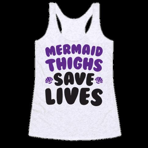 Mermaid Thighs Save Lives