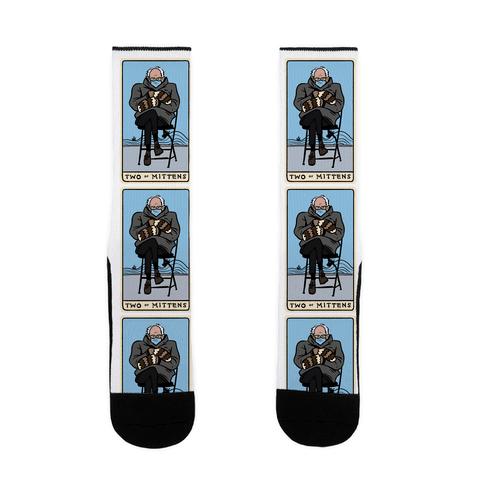 Two of Mittens (Bernie Tarot Parody) Sock
