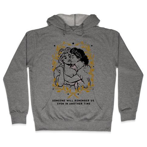 Sappho and Erinna Remember Us Hooded Sweatshirt