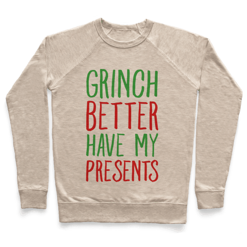 Grinch Better Have My Presents Parody