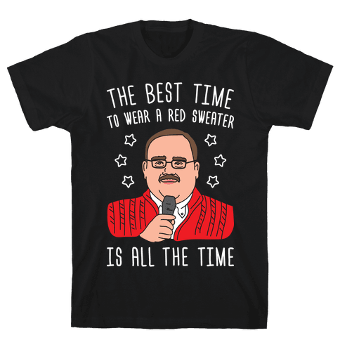 Ken Bone Red Sweater