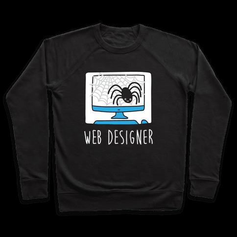 Web Designer Spider Pullover