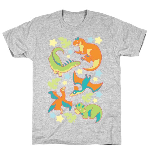 Funky Dinosaur Friends T-Shirt