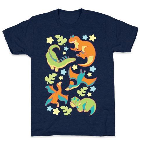 Funky Dinosaur Friends T-Shirt
