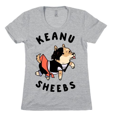 Keanu Sheebs Womens T-Shirt