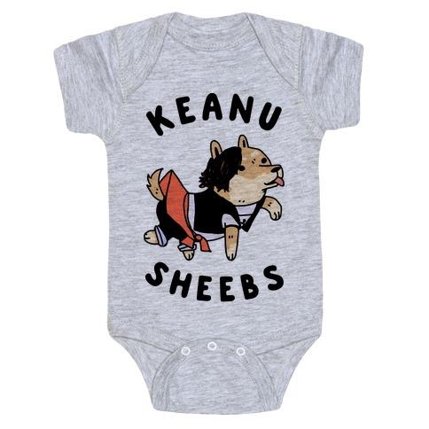 Keanu Sheebs Baby Onesy