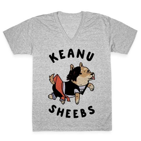 Keanu Sheebs V-Neck Tee Shirt