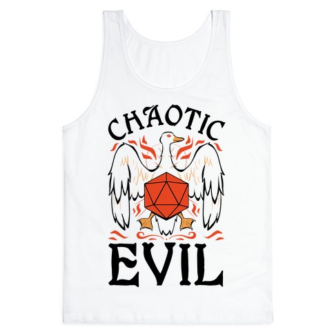 Chaotic Evil Goose Tank Top