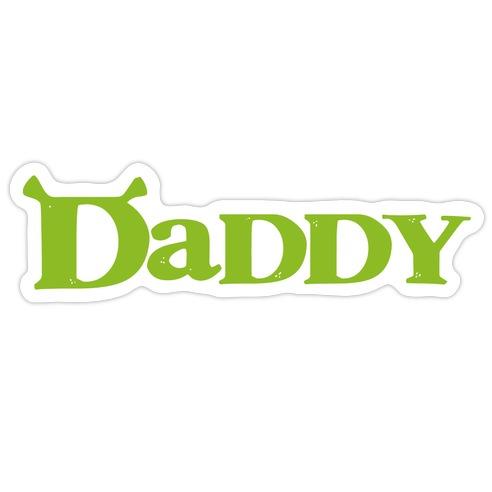 Daddy Die Cut Sticker