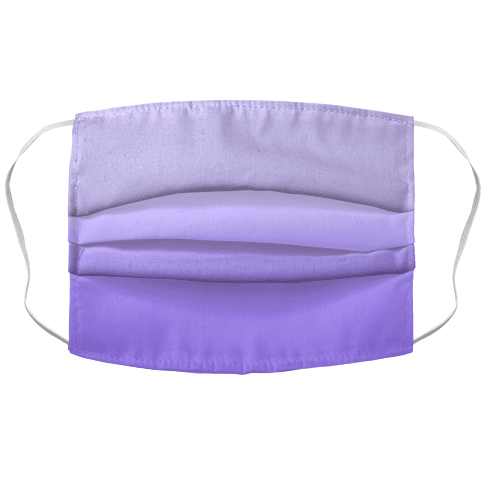 Lavender Gradient Face Mask Cover