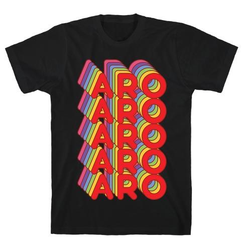 Aro Retro Rainbow T-Shirt