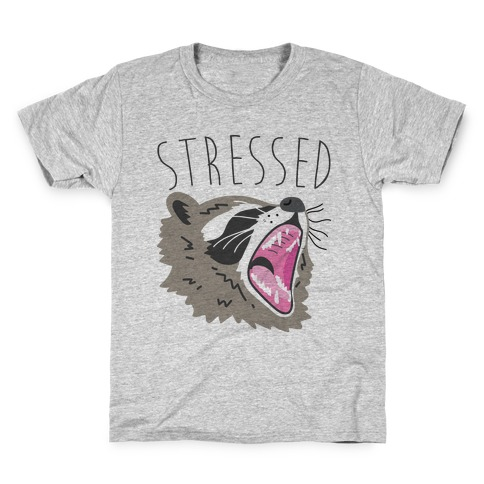 Stressed Raccoon Kids T-Shirt