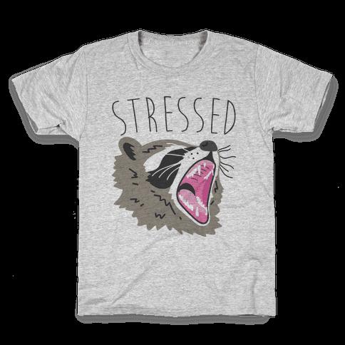 Stressed Raccoon Kids T-Shirt