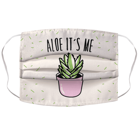 Aloe It's Me Face Mask Cover