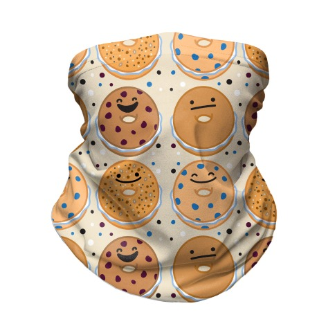 Bagels Are Everything Pattern Neck Gaiter