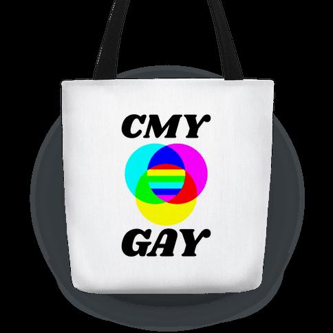 CMY Gay Tote