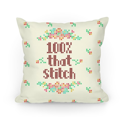100% That Stitch Pillow