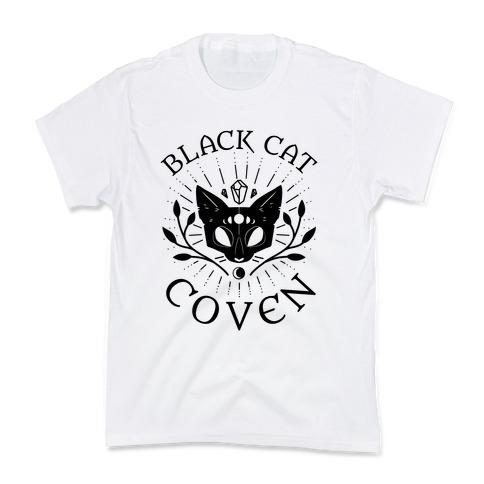 Black Cat Coven Kids T-Shirt
