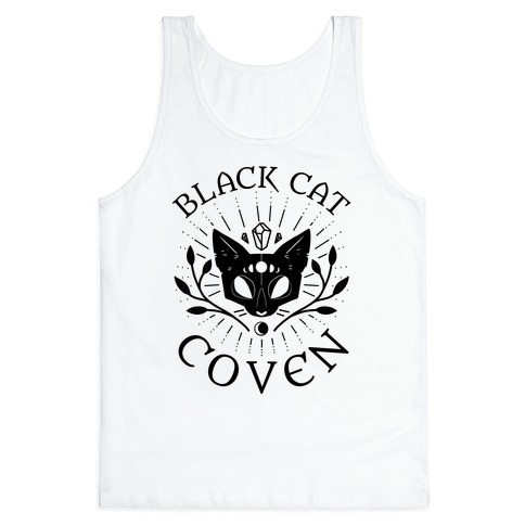 Black Cat Coven Tank Top
