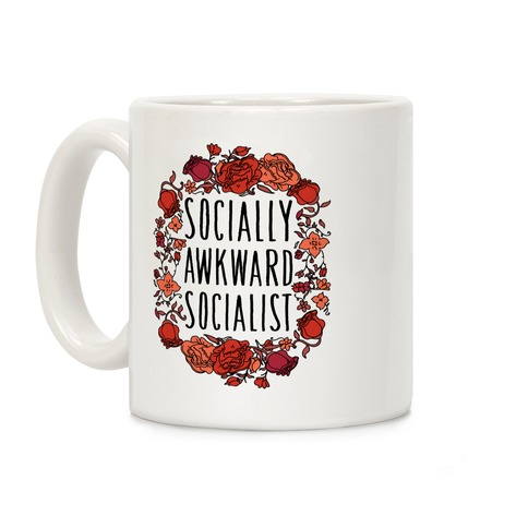 Socially Awkward Socialist Coffee Mug