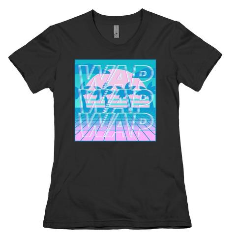 Vaporwave WAP Womens T-Shirt