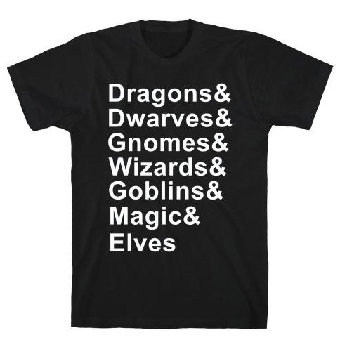 Fantasy List T-Shirt