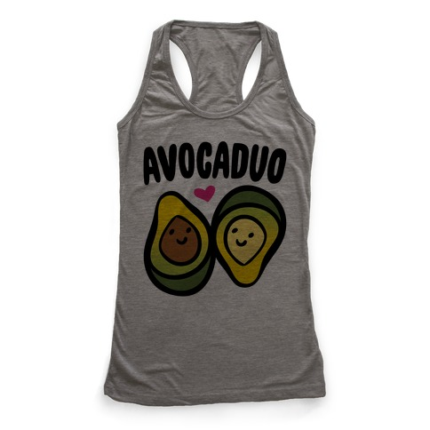 Avocaduo Pairs Shirt Racerback Tank Top