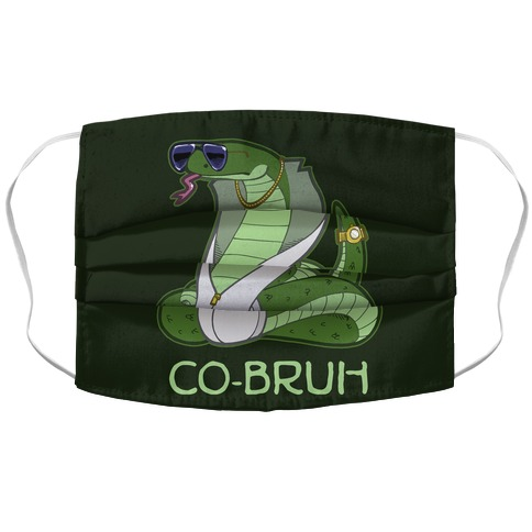 Co-Bruh Accordion Face Mask