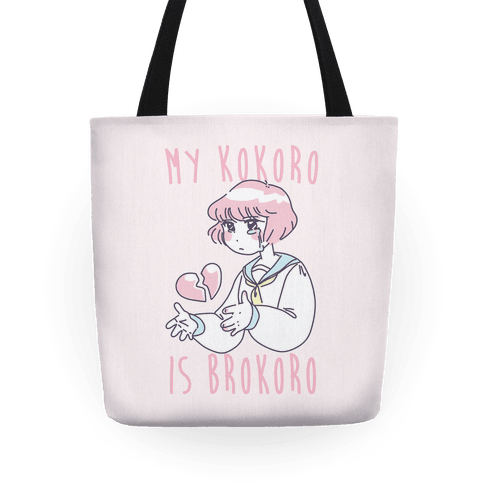 My Kokoro is Brokoro Tote