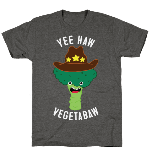 Broccoli Cowboy Mens/Unisex T-Shirt