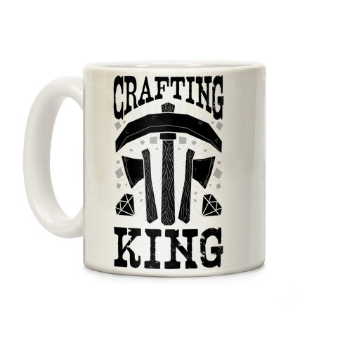 Crafting King Coffee Mug