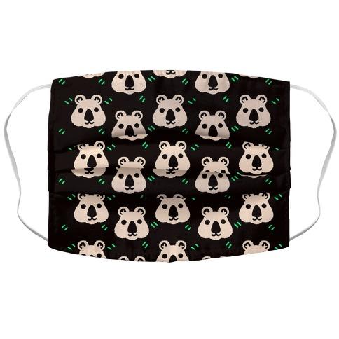 Cute Wombat Boho Pattern Accordion Face Mask