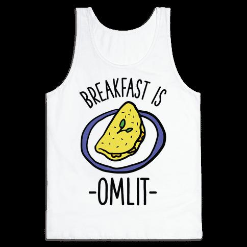 Breakfast is Omlit Tank Top
