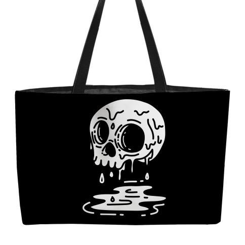 Melting Skull Weekender Tote
