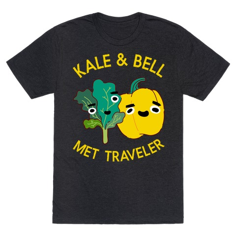 Kale and bell Met, Traveler T-Shirt