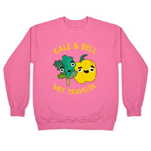 Kale and bell Met, Traveler Pullover