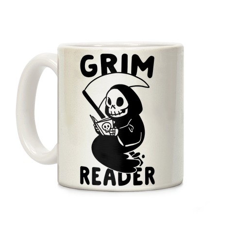 Grim Reader Coffee Mug