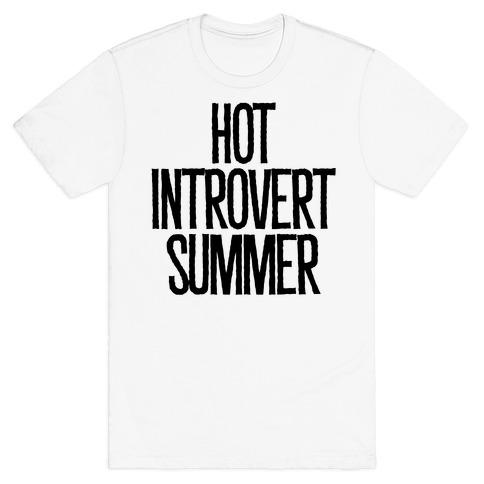 Hot Introvert Summer T-Shirt