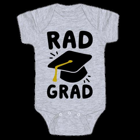 Rad Grad  Baby Onesy