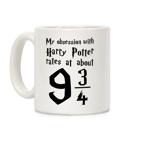 Harry Potter Obession Coffee Mug
