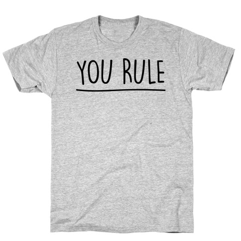You Rule You Suck Parody Pairs Shirt T-Shirt
