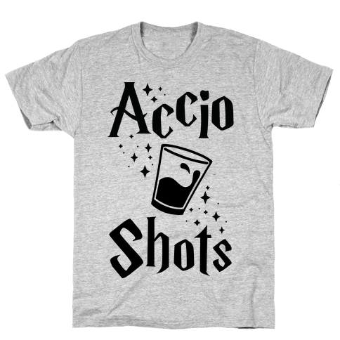 Accio Shots Mens T-Shirt