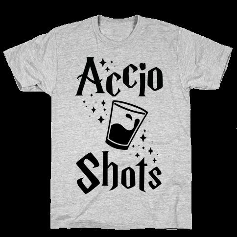Accio Shots Mens T-Shirt