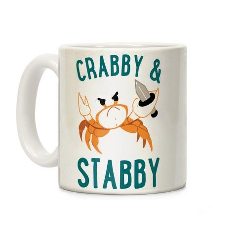 Crabby & Stabby Coffee Mug